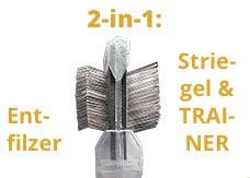 2in1 flitter gold